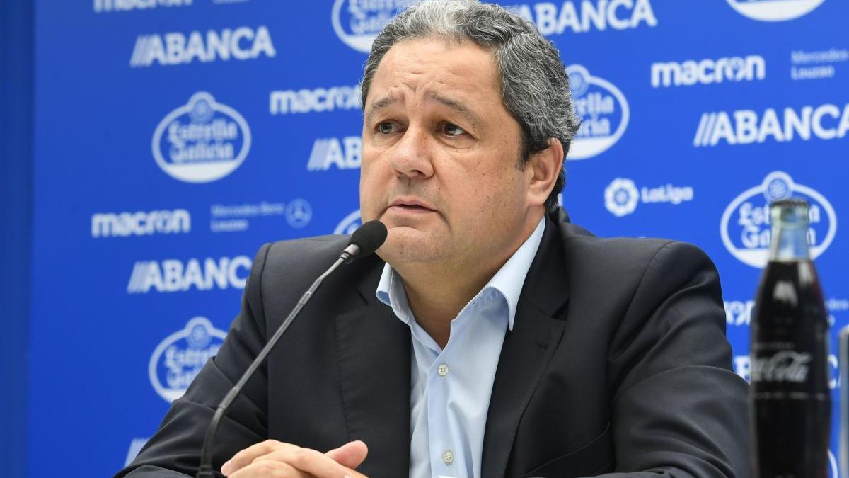 Tino Fernández, nombrado consejero del Racing de Ferrol