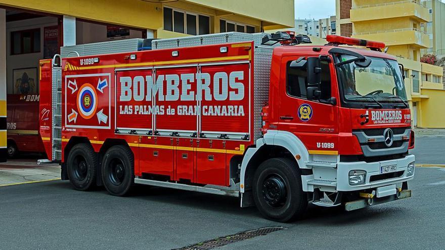 Rescate de una anciana en Madera y Corcho