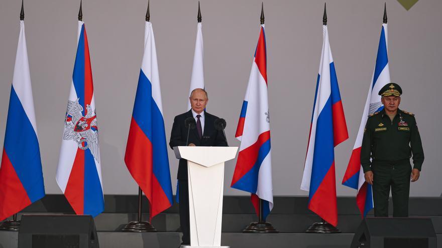 """Putin carga contra EEUU y dice que su intervención en Afganistán ha sido una """"tragedia"""""""