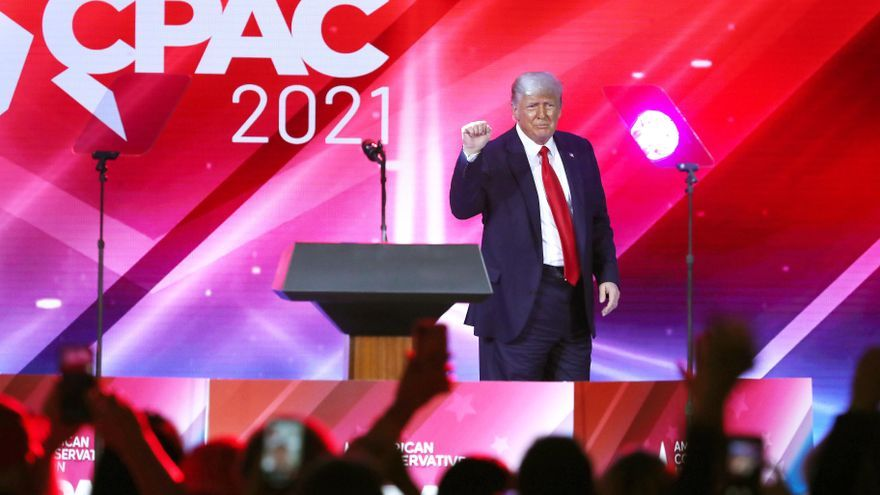Trump promete la vuelta republicana a la Casa Blanca y reafirma el fraude electoral