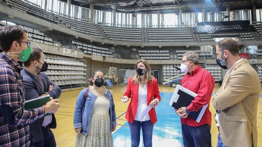 El Ciutat de Castelló se pone 'guapo' para el Mundial de balonmano femenino