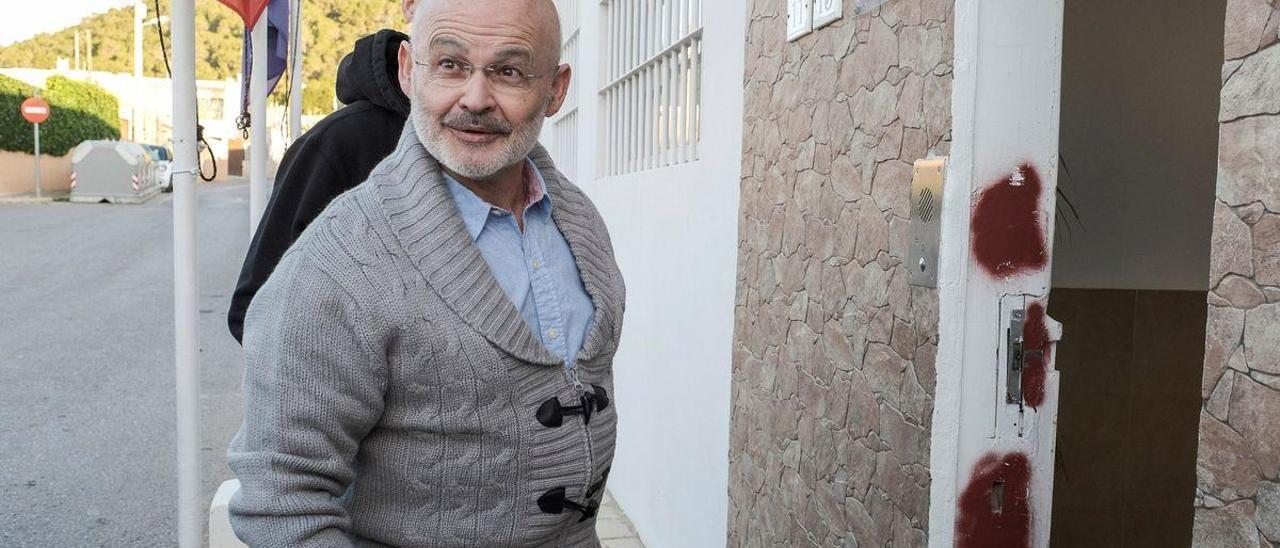 José Juan entra en la cárcel de Ibiza en una foto de archivo. Sergio G. Cañizares