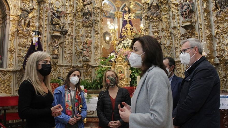 Patricia el Pozo asegura la continuidad de las ayudas destinadas al arte sacro