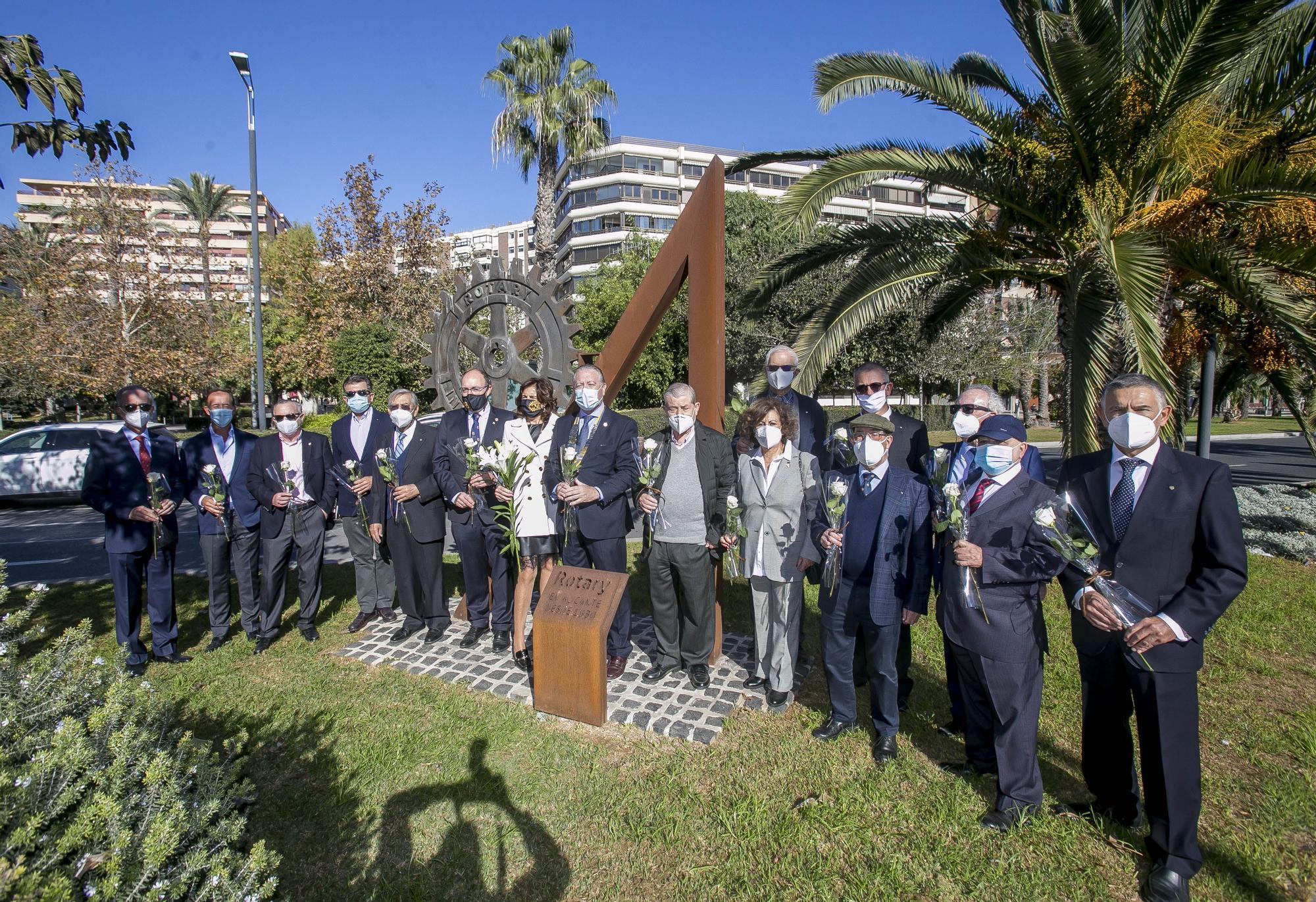 Los rotarios de Alicante celebran hoy 90 años de historia