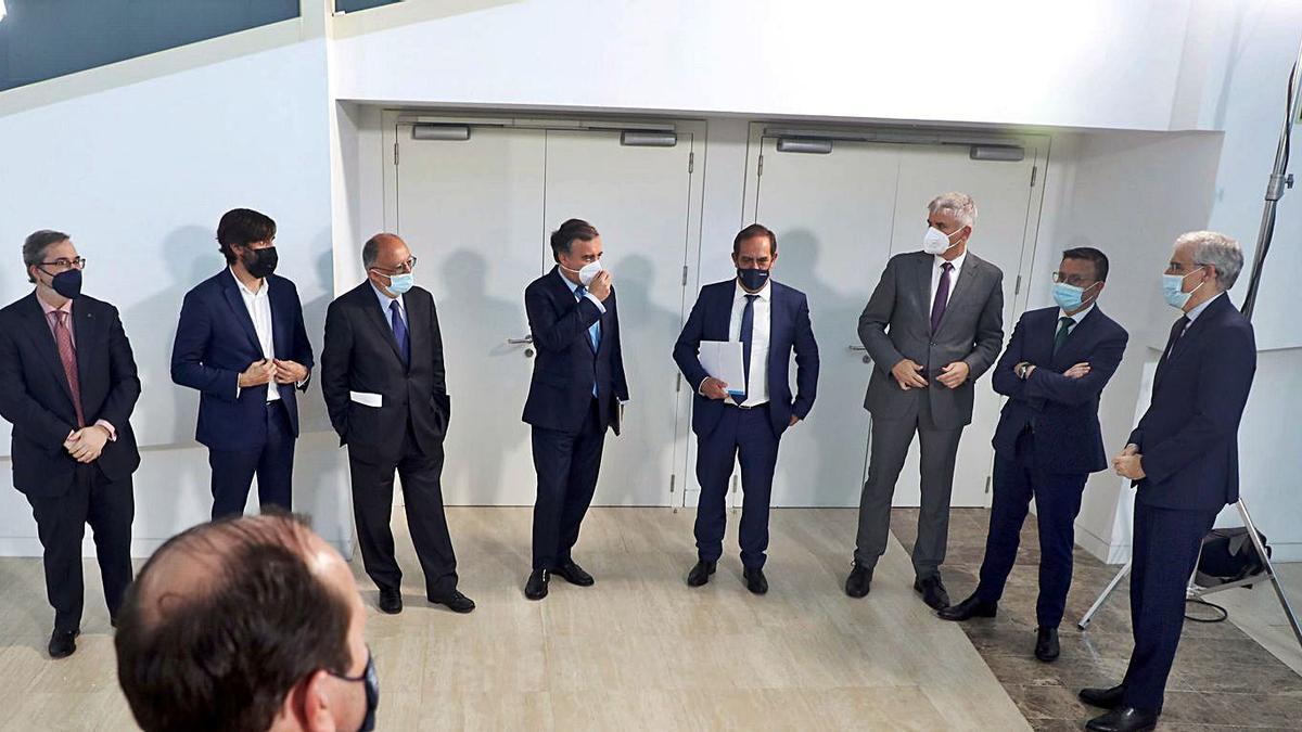 Directiva de la sociedad para gestionar los fondos Next Generation en Galicia.   | // XOÁN ÁLVAREZ