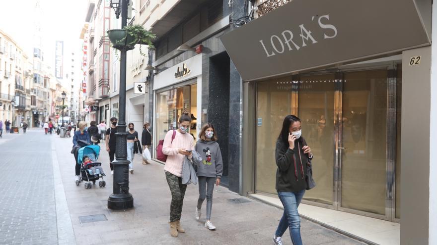 El comercio del centro pide una campaña para recuperar clientes en Castelló