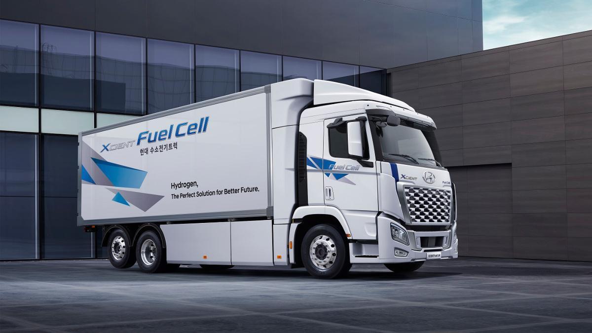 Hyundai actualiza el XCIENT Fuel Cell, su camión pesado de hidrógeno con 400 km de autonomía