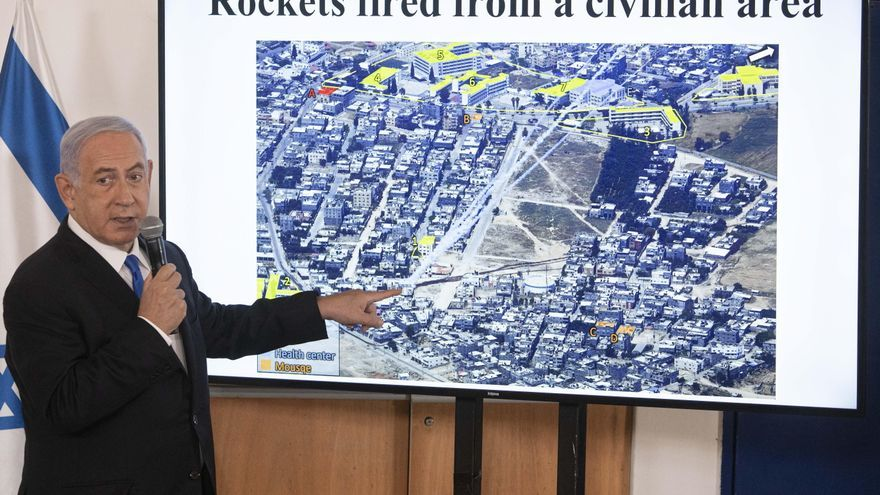 Netanyahu convoca a su equipo de seguridad para estudiar un alto el fuego en la Franja de Gaza