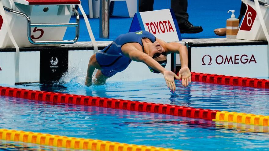Nuria Marquès, bronce en los 200 estilos SM9