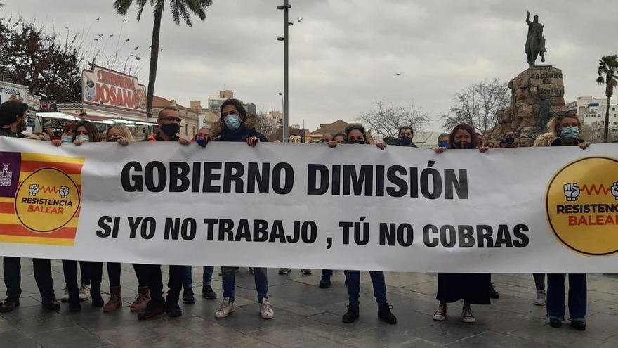 Nur knapp hundert Teilnehmer bei erneutem Corona-Protest in Palma