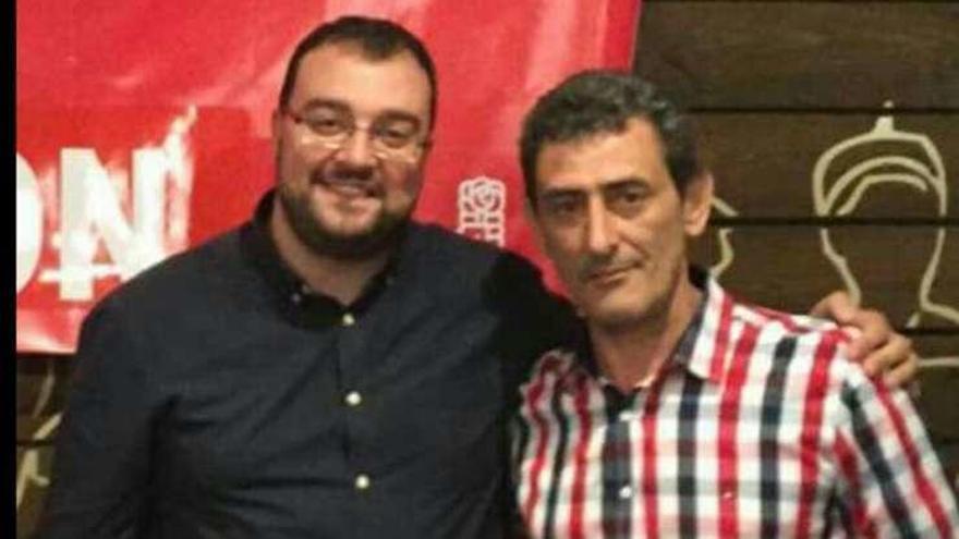 "Fernando García Álvarez, ""Nani"", secretario general del PSOE de Teverga"