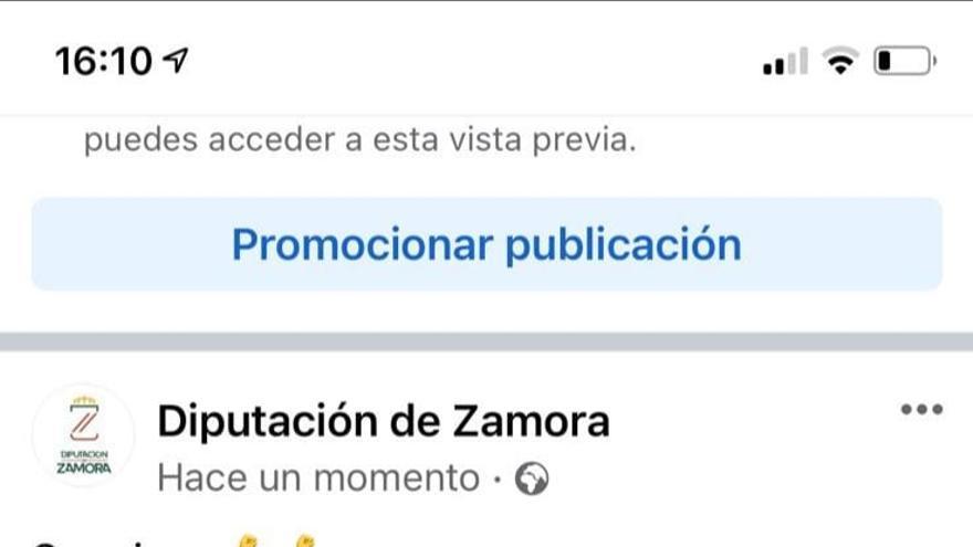 El PSOE de Zamora denuncia un uso partidista de las redes sociales de la Diputación