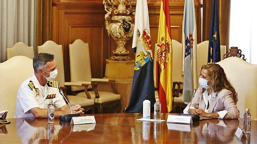 Escuela Naval y Diputación se alían para impulsar la formación y la innovación tecnológica