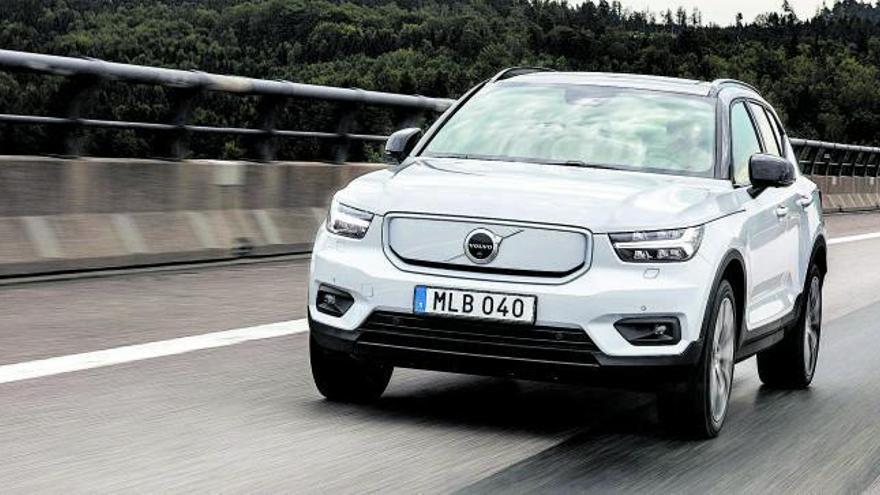 El primer Volvo 100% eléctrico