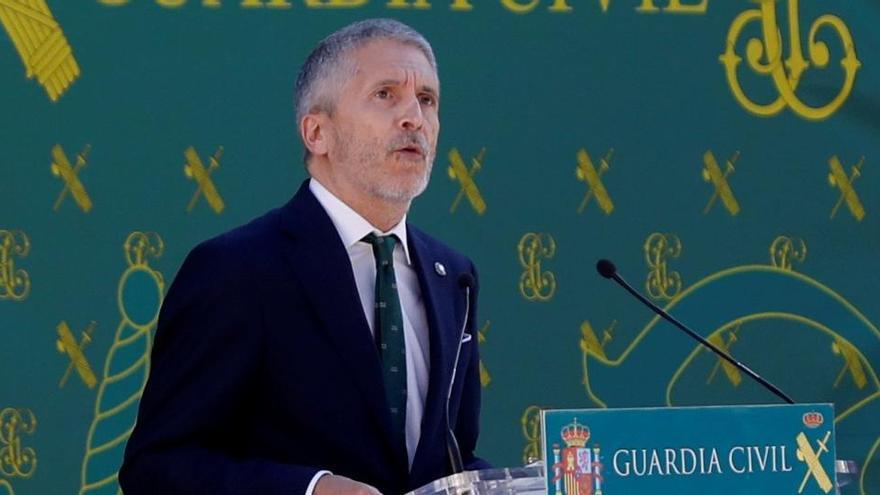 La Fiscalía pide rechazar las querellas contra Marlaska por la destitución de De los Cobos