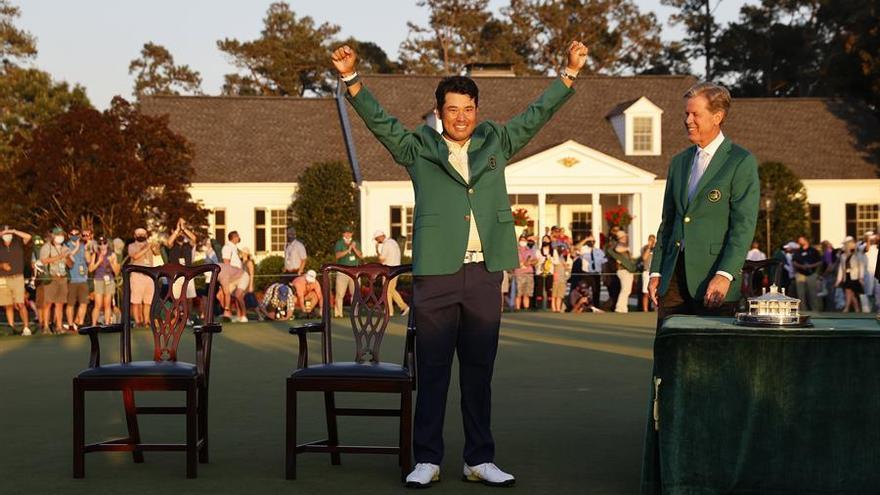Matsuyama, primer japonés que gana el Masters de Augusta