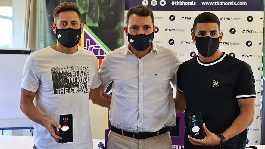 Hamza y Rafa López se van del Palma Futsal «con la espinita de no jugar una final»