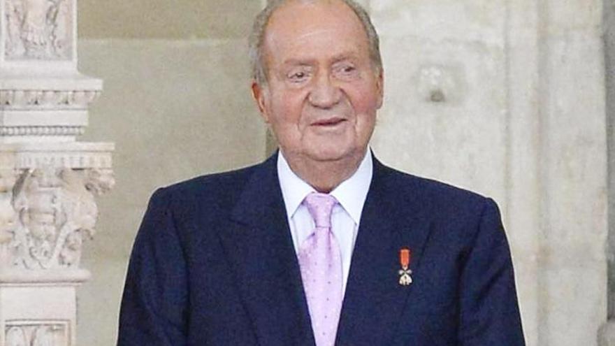 Altkönig Juan Carlos hat etwas zu feiern