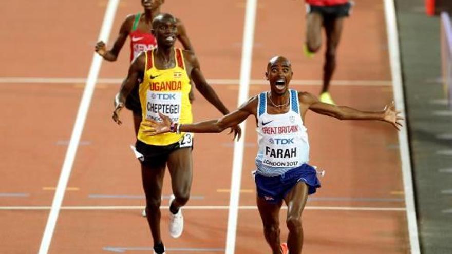 Atletisme Mo Farah engrandeix la seva llegenda