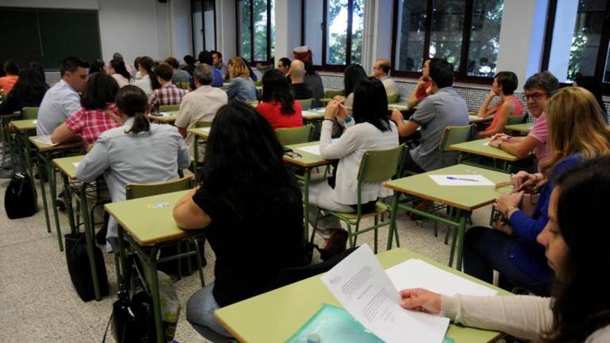 Educación convoca las oposiciones del próximo año con un total de 1.377 plazas