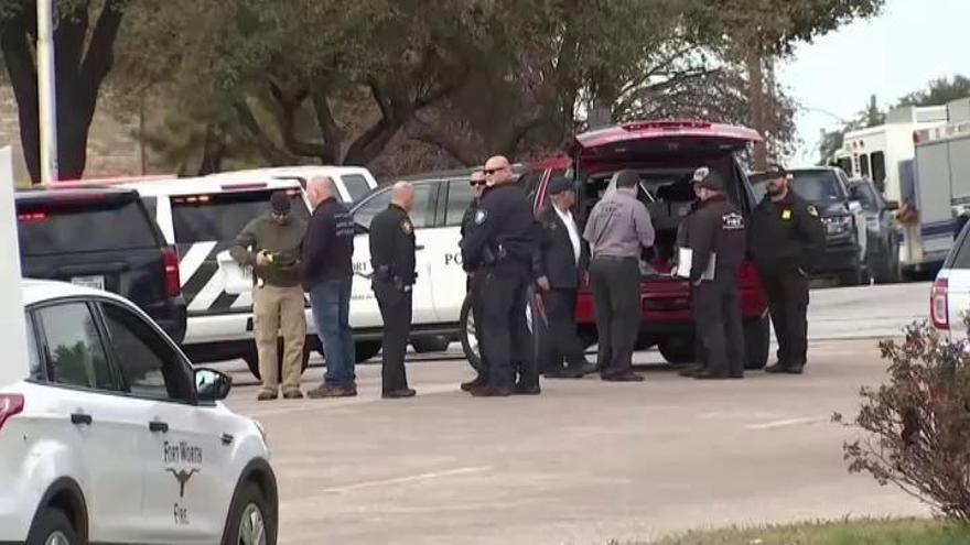 Muere tiroteado un hombre en una iglesia de Texas y su agresor es abatido