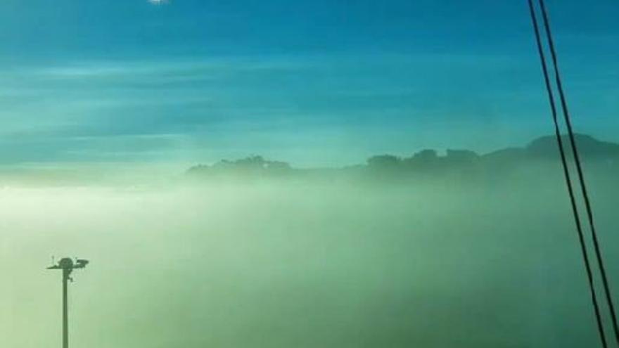 Aterrizaje con baja visibilidad en Los Rodeos