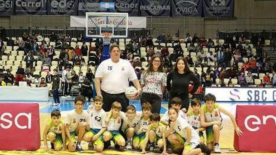 El Basketdeza mini participa en el Monbus-Manresa