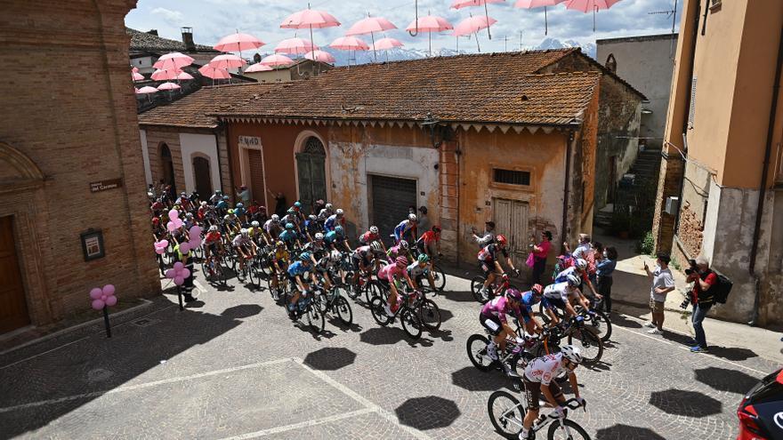 Sigue en directo la etapa de hoy del Giro de Italia: Foggia - Guardia Sanframondi
