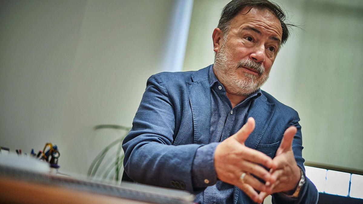 José Gregorio Martín Plata, consejero de Turismo del Cabildo de Tenerife que abandona el cargo el próximo lunes tras presentar su dimisión.