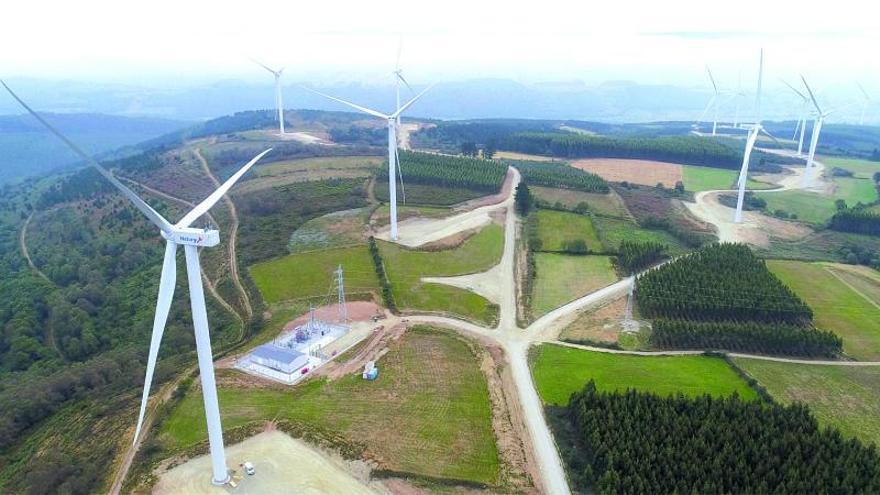 Naturgy creará 260 empleos en la construcción de dos parques eólicos en Tabeirós y Montes