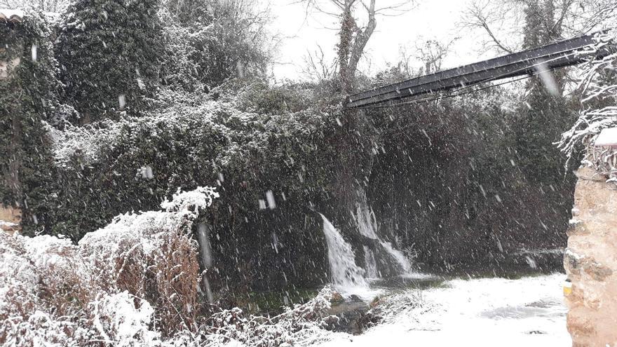 El Rincón de Ademuz espera más nieve esta tarde