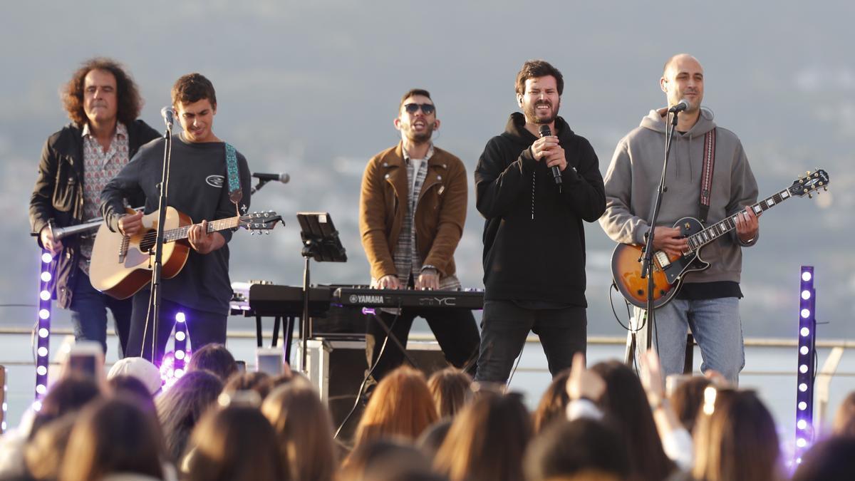 Taburete durante su concierto en el Festival TerraCeo en Vigo 2021.