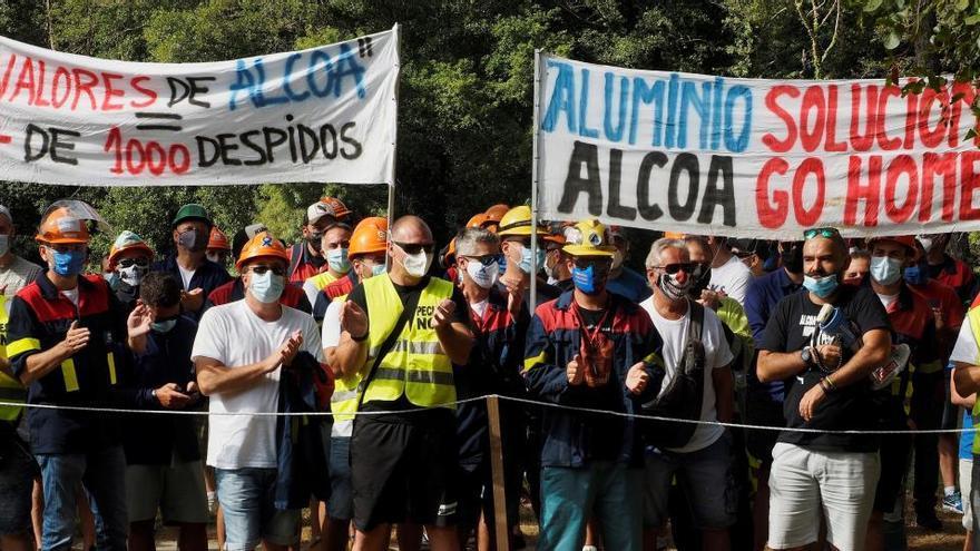 """El comité de Alcoa: """"Estamos abandonados por las administraciones"""""""
