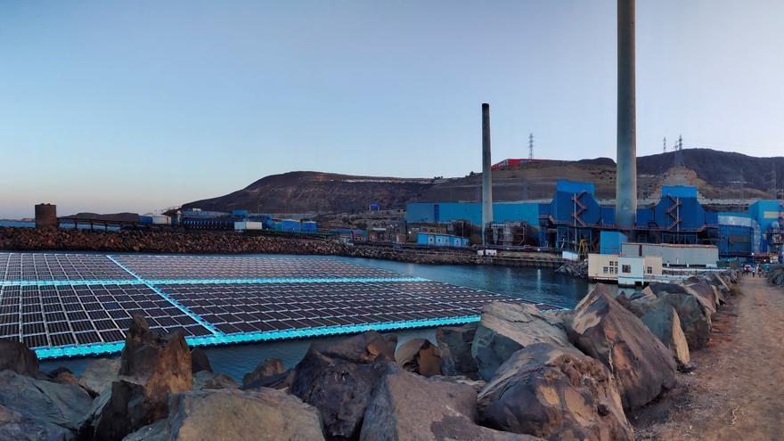 Diseñan un sistema fotovoltaico flotante para la desaladora Las Palmas III