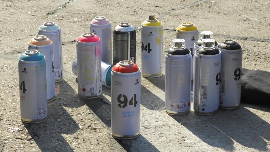 Las obras de Muelle, el primer grafitero español, salen a subasta