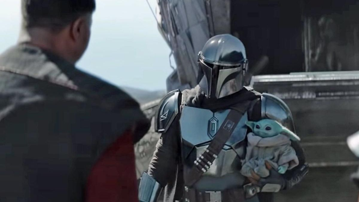 Image from the 2nd season of & # 039; The Mandalorian & # 039 ;.