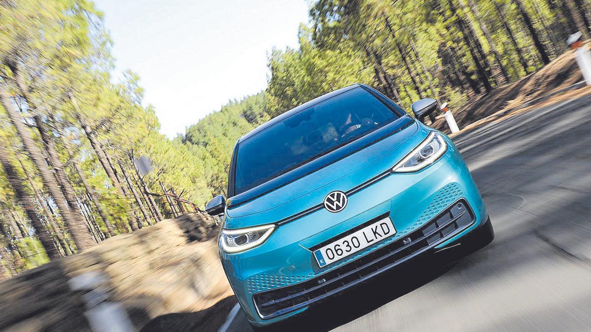 Uno de los nuevos modelos ID.5 de Volkswagen.