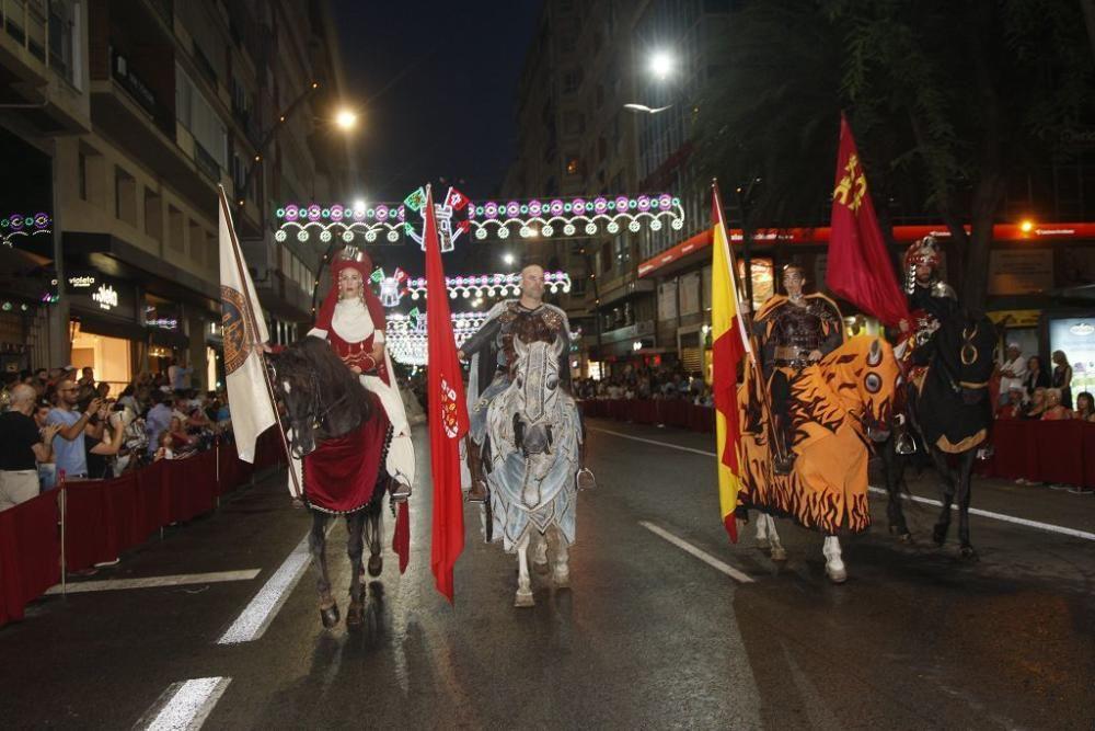 Desfile de Moros y Cristianos en Murcia