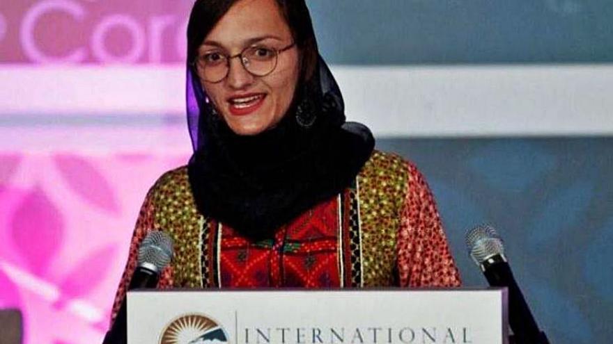 Casinos quiere acoger a la única alcaldesa de Afganistán