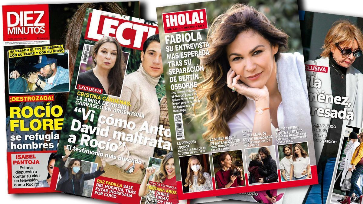 Prensa Rosa: Portadas 31/03/2021