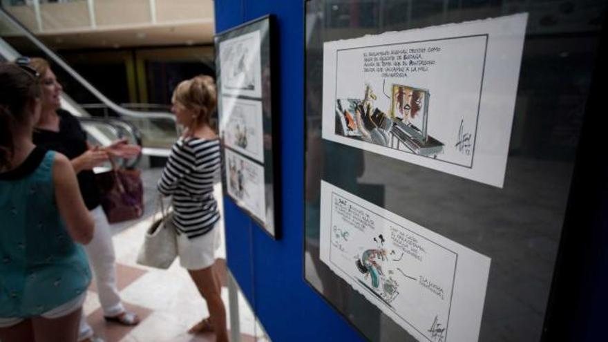 Las Jornadas del Cómic arrancaron ayer con la exposición del dibujante español Alfons López
