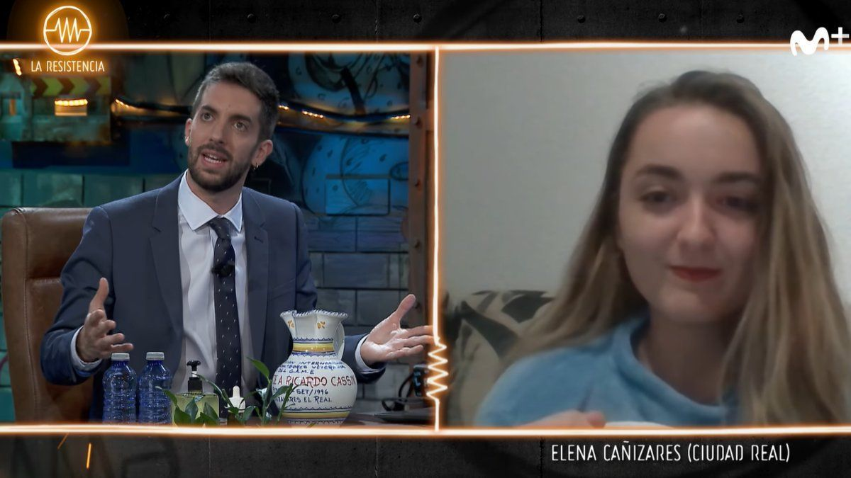 """Elena Cañizares también se cuela en 'La Resistencia"""": """"Mis compañeras me quieren denunciar"""""""