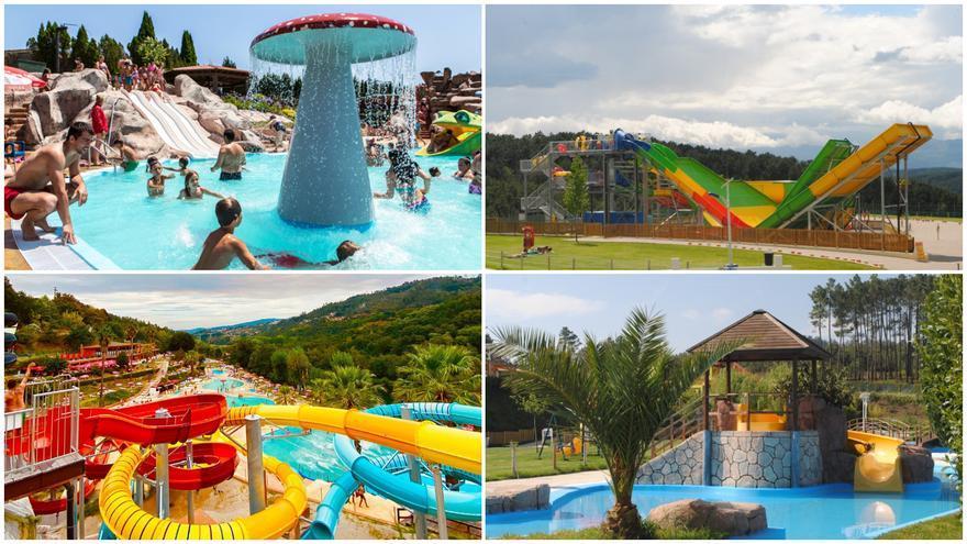 Todos los 'aquaparks' cerca de Vigo en los que refrescarte