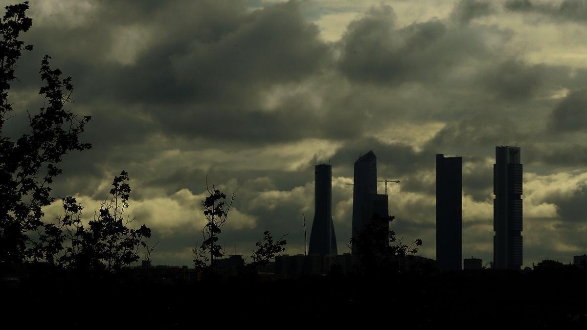Una imagen de las Cuatro Torres, en Madrid.