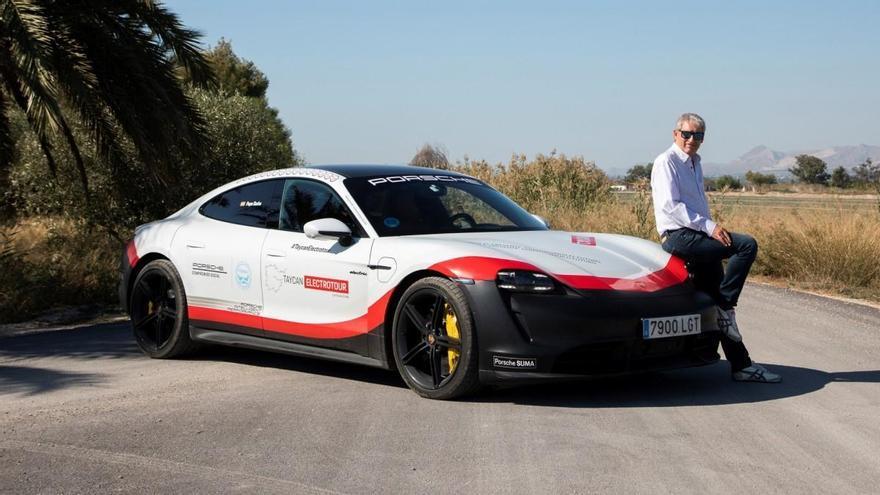 Porsche Taycan Electrotour, disfrute solidario