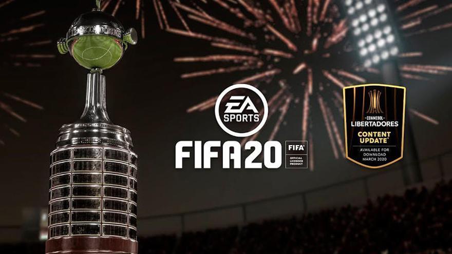 La Copa Libertadores llegará a 'FIFA 20'