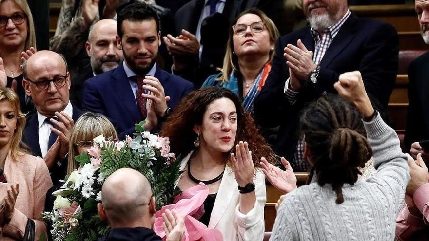 """Aina Vidal: """"El día de la investidura no sabía si volvería nunca más a Madrid"""""""