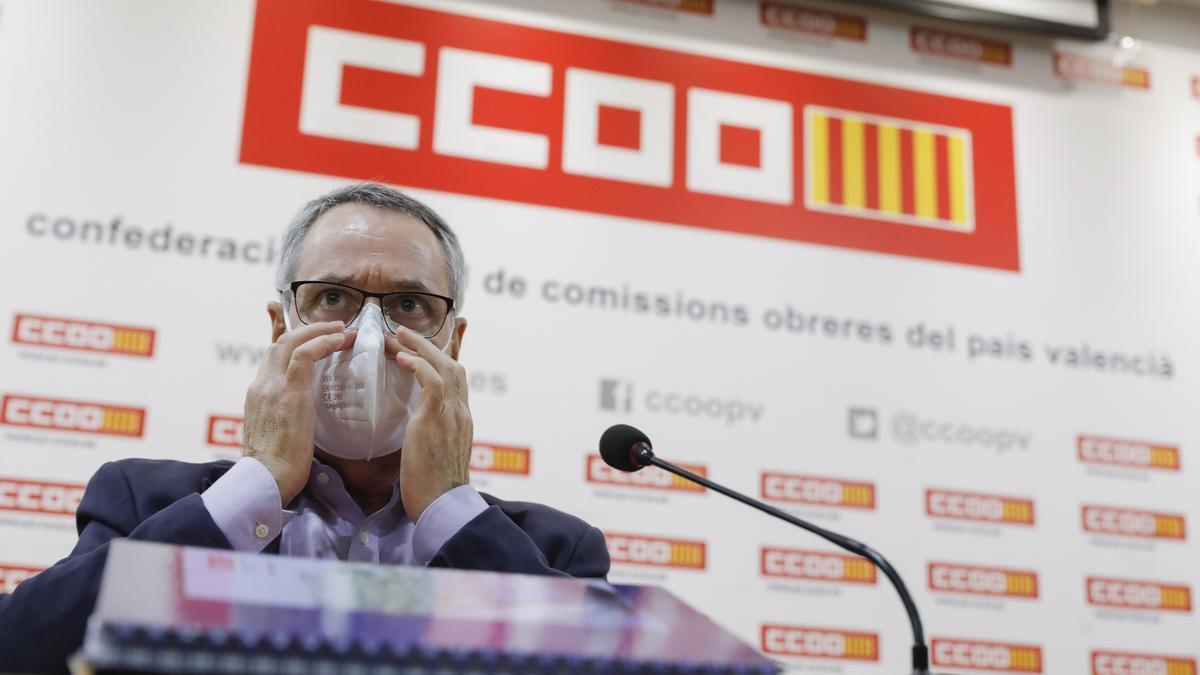 """Arturo León (CCOO PV) defiende la legalidad de su vacunación bajo parámetros éticos"""": """"No me he colado, no he medrado"""""""