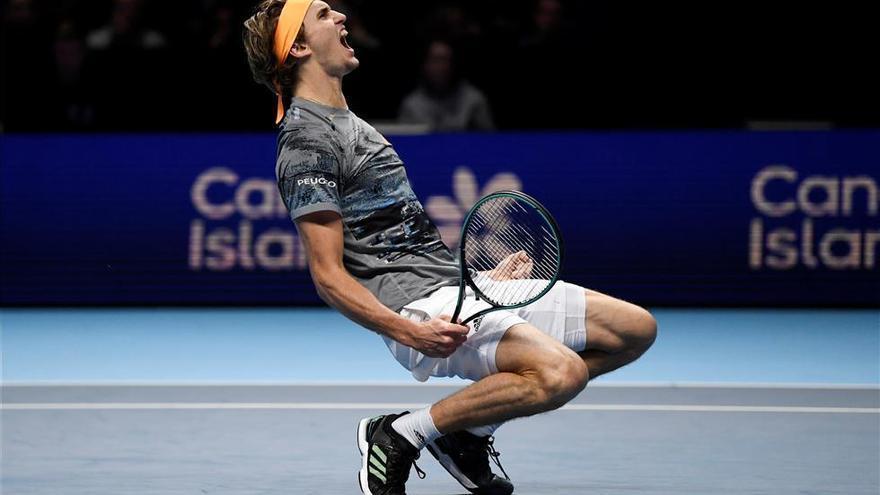 Zverev avanza a las semifinales y Nadal queda fuera