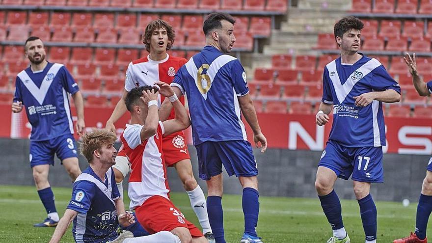 El Girona B haurà de buscar l'ascens a 2a RFEF a la repesca (1-1)